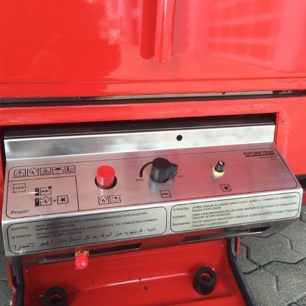 Schulung - Gasbrenner Kärcher TFK 250